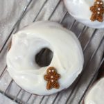 Gingerbread Donut with Cream Cheese Icing