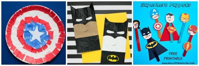 superhero crafts