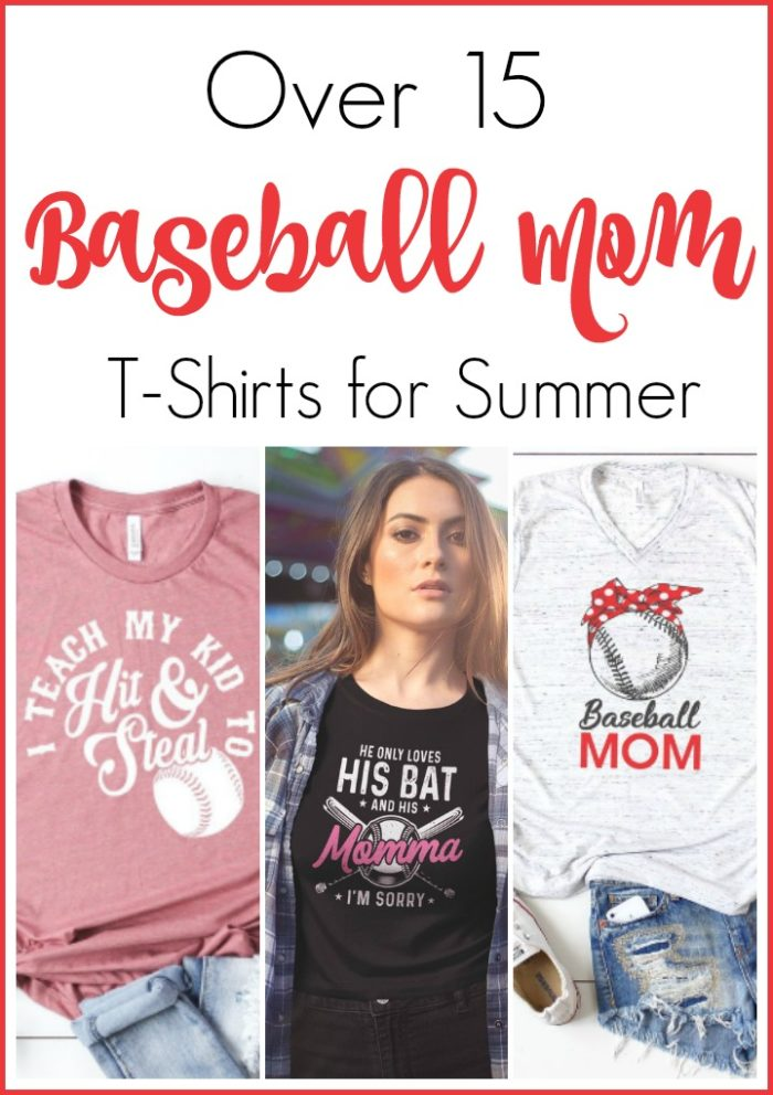 afffa3e5 Baseball Mom Shirts to Wear on Game Day - Mom vs the Boys