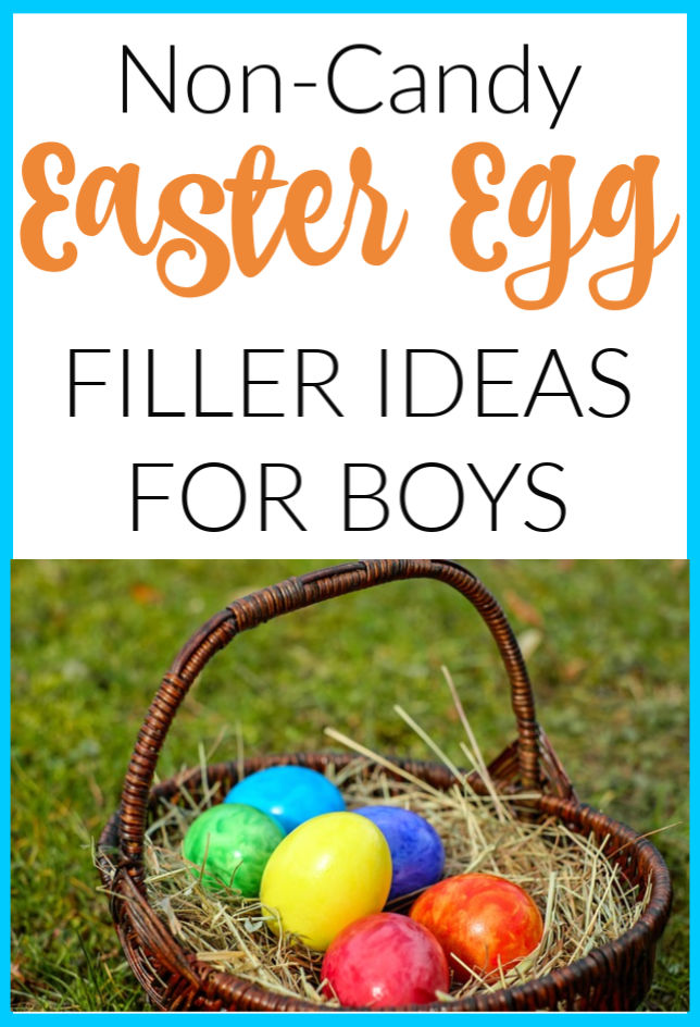 non candy easter egg fillers