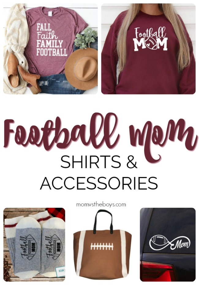 Football Mom Shirts and Accessories