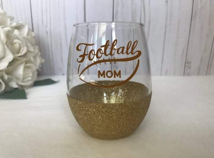 football wine glass