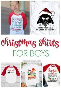 Christmas shirts for boys