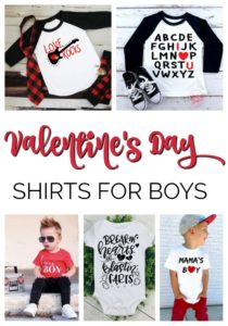 valentine's day shirts for boys