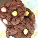 Easter mini egg cookies