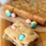 mini egg cookie squares